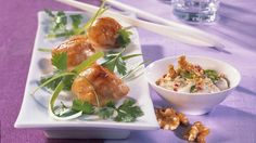 Scallops with Thai Dipping Sauce