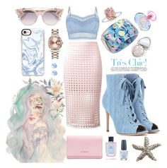 """""""Beautiful Day"""" by lauraaaaahhh ❤ liked on Polyvore featuring Gianvito Rossi, Alexis Bittar, T By Alexander Wang, Lipsy, Too Faced Cosmetics, Givenchy, Jimmy Choo, Rolex, Casetify and Salvatore Ferragamo"""