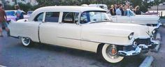 The way he crossed country 1954 Fleetwood!