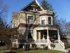 """Authentic Queen Anne Victorian! As you enter this beautiful home you""""ll be greeted by a grand open staircase with original woodwork. A walk through butler""""s pantry with a copper sink attaches to the…"""