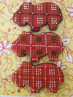 Plaid cookies