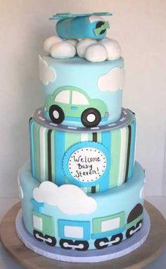 Transportation cake !