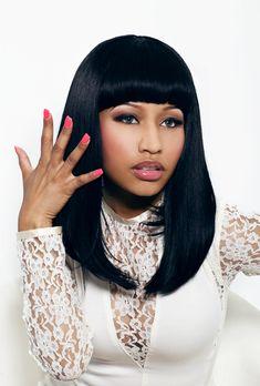 black hair styles | Nicki Minaj Hairstyles - Celebrity Hairstyles
