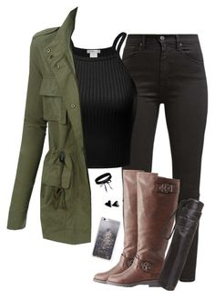 """""""☔️Rainy days☔️"""" by lollypopz951 on Polyvore featuring Levi's, LE3NO, Charlotte Russe, Dorothy Perkins, Skinnydip and Boohoo"""