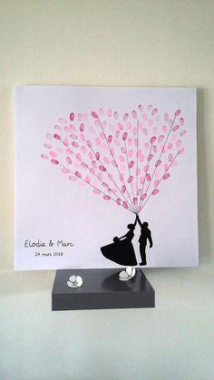 tree footprints balloons. wedding for 100-120 people. 1 pad