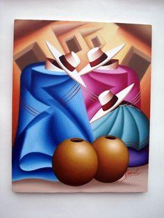 arte andino: Cuban Art, Mexican Art, Pictures To Paint, Art Pictures, Abstract Canvas, Canvas Art, Scrapbooking Image, Peruvian Art, Afrique Art