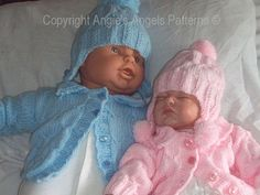 premie baby hats Angies Angels patterns - exclusive designer knitting and crochet patterns for your precious baby or reborn dolls, handmade, handknitted, baby clothes, reborn doll clot Knitting For Charity, Baby Hats Knitting, Baby Knitting Patterns, Baby Patterns, Free Knitting, Knitted Hats, Crochet Patterns, Sewing Patterns, Baby Girl Dresses