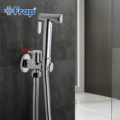 Cheap shower tap, Buy Quality tap shower directly from China shower water valve Suppliers: Set Solid Brass Single Cold Water Corner Valve Bidet Function Cylindrical Hand Shower Tap Crane 90 Degree Switch Shower Taps, Shower Set, Bathroom Toilets, Bathroom Fixtures, Water Valves, Frappe, Solid Brass, Cool Things To Buy, Door Handles
