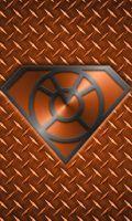 Metalic Laranja Lanterna Superman ID telefone, KalEl7