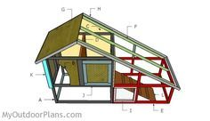 Free Rabbit Cage plans | Free Outdoor Plans - DIY Shed, Wooden Playhouse, Bbq, Woodworking Projects
