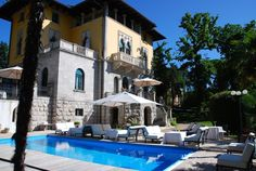 In Lovran, near the historic seaside resort of Opatija on Istria's south eastern coast, lies Villa Astra, surrounded by one of the most elegant spa towns of the former Austrian Empire. http://www.schlosshotels.co.at/en/astra