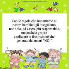 Le nostre regole ai #bambini sono un aiuto prezioso, anche per imparare a…