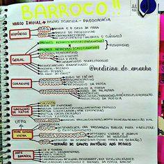 #RESUMO #LITERATURA #BARROCO ❤❤❤❤ Também já está disponível para download no blog (RESUMOS 2016 ...