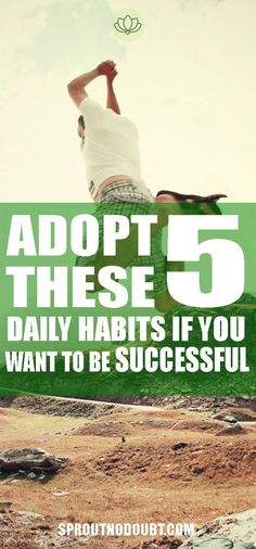 It takes a many things to be successful in life. There are no 5 things you can do to guarantee that you'll be successful. However, if you adopt these 5 daily habits, your chances will be much higher. Define Success, Success Meaning, Self Exploration, Habits Of Successful People, We Are Strong, Motivation Success, Make A Person, Stress Management, 5 Things