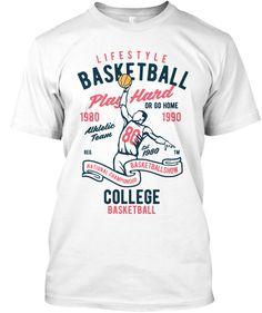 Basketball Lifestyle Shirt Men White T-Shirt Front Shirt Men, T Shirt, Just For You, Basketball, Lifestyle, Mens Tops, Supreme T Shirt, Tee Shirt, Tee