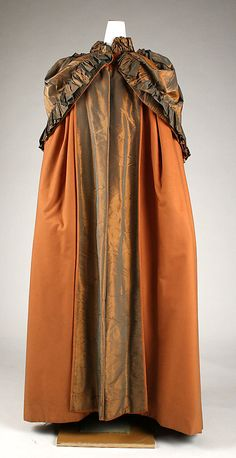 1840-70 cloak. (Not unlike my modern one from Steven Overstreet that works with so many different eras.)
