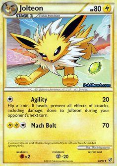 Jolteon card!