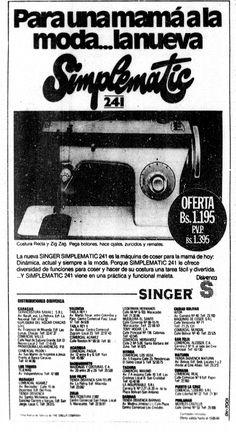 Publicidad del Día de las Madres. Publicado el 12 de mayo de 1984.