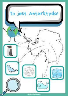 Dzień Ziemi – informator dla dzieci – Świat Przedszkolanki Transportation Crafts, Arctic Animals, Montessori, Children, Kids, Planets, Diy And Crafts, Preschool, Education