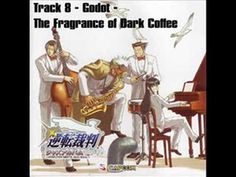 """Track 8 from Capcom's Turnabout Jazz Soul album is an arrangement of Godot's theme, """"The Fragrance of Dark Coffee,"""" from Ace Attorney: Trials and Tribulations, the third entry in the popular video game series."""