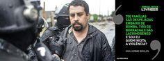 Portal Galdinosaqua: Guilherme Boulos é preso em reintegração em SP