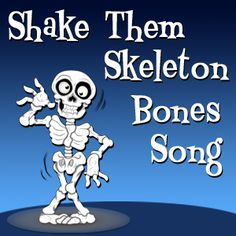 six weeks Halloween songs for the classroom. Teach parts of the body with Shake Them Skeleton Bones song. Halloween Songs, Halloween Activities, Preschool Halloween, Human Body Lesson, Human Body Unit, Body Preschool, Preschool Music, Skeleton Bones, School Videos