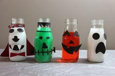 Spooktacular Halloween Bottles