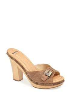 Dr. Scholl's - I don't remember them this expensive....but they sure are cute!  (and I need a pair)