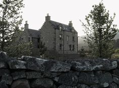 Queen Victoria slept here. Gairnshiel, a Victorian hunting lodge in the Scottish Highlands, has been recast by a Belgian family as a high-style retreat. Belgian Style, Look Here, European House, Scottish Highlands, Running Away, Lodges, Castles, Hunting