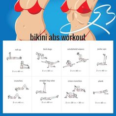 Bikini Abs Workout ???? Try These Sixpack Exercises. Healthy Fit - Yeah We Train !
