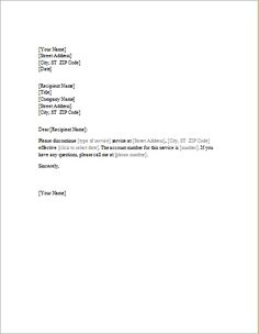 write insurance cancellation letter sample cover templates ...