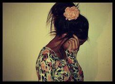 Her hair is so cute! <3