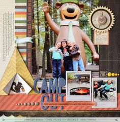 Scrapbooking Summer Destinations with Nancy Damiano - Two Peas in a Bucket