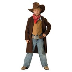 Kidsu0027 Cowboy Costume Small (4-6) Boyu0027s ...  sc 1 st  Pinterest & Quick and easy tutorial to make a cowboy vest - for you or a kiddo ...