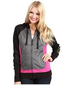 $69.95 www.jewelsbyparklane.ca  FOX® Zip Up Fuchia Grueling Style Hoodie - Free Shipping