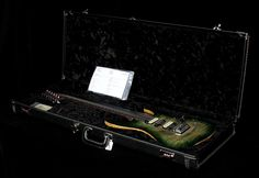 Suhr Modern Waterfall Burl Electric Guitar Faded Green Burst | The Music Zoo