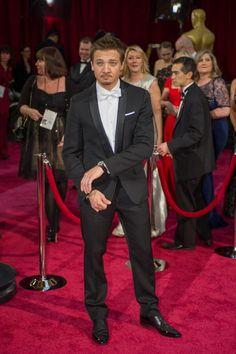 Jeremy Renner Oscars 2014