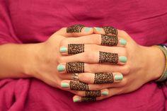 Henna Tattoo Designs On Fingers