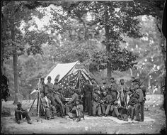 Engineer camp, 8th N.Y. State Militia | Flickr - Photo Sharing!