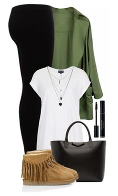"""#24"" by oneandonlyfashion ❤ liked on Polyvore featuring Gestuz, Topshop, Givenchy and UGG Australia"