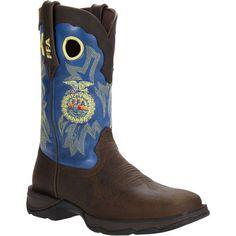RD033 Durango Women's Rebel FFA SQ Western Boots - Brown