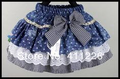Girls Skirts Multi-layer cake skirt with bow Children Jeans skirts Lattice skirts, Girls Skirts Multi-layer cake skirt with bow Children Jeans skirts Lattice skirts 2017 Girls Skirts Multi Layer Cake Skirt With Bow Children Jeans Ski. Little Girl Skirts, Baby Girl Skirts, Baby Skirt, Baby Dress, Toddler Skirt, Baby Sewing, Kind Mode, Dress Patterns, Fashion Kids