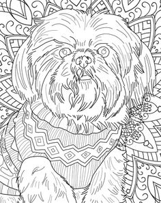 Beautiful Dog Breeds: Adult Coloring Book (Wild Color)