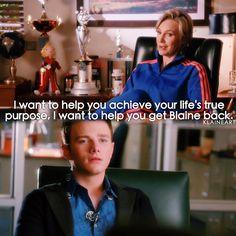 """#Glee 6x04 """"The Hurt Locker, Part One"""" - Sue and Kurt"""