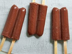 Greek Yogurt Fudge Pops Recipe : Food Network Kitchen : Food Network