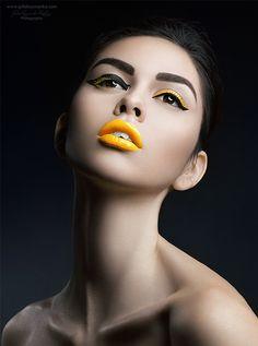 Closeup Beauty on Makeup Arts Served