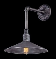 "Troy Lighting B2772 Toledo 1 Light 17.25"" High Wall Sconce Old Silver Indoor Lighting Wall Sconces Down Lighting"