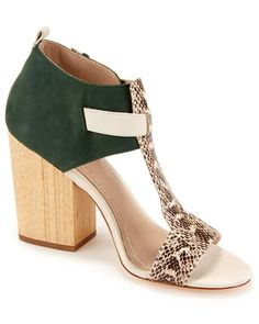"Elizabeth and James ""Carri"" Leather Sandal"