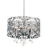 Found it at Wayfair - Bizet 6 Light Crystal Chandelier