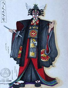 Costume Design Sketch, Madame Butterfly, Opera, Sketches, Japan, Fantasy, Costumes, Illustration, Unique